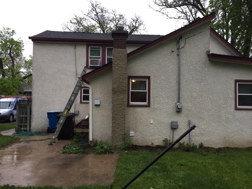 Anoka, MN - Removed forms and cleaned brick work