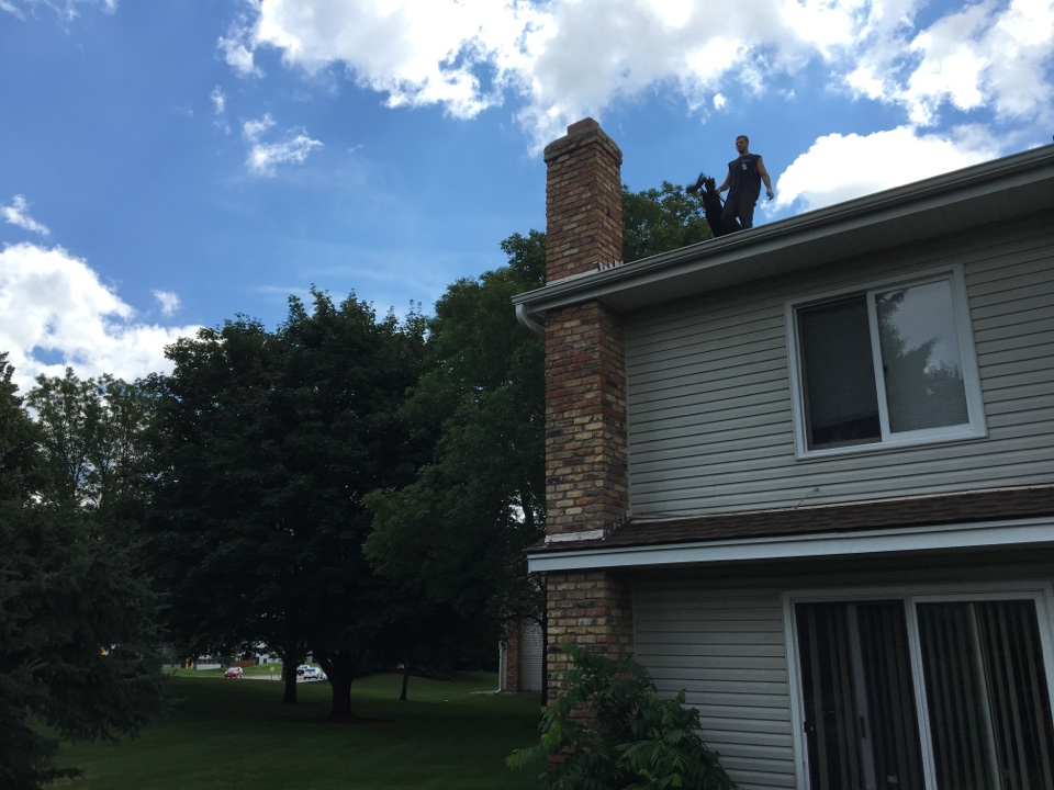 Brooklyn Center, MN - Chimney clean and Smart-Scan inspection