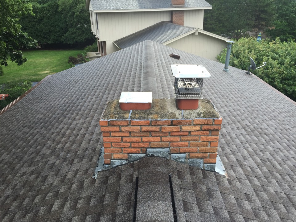 Bloomington, MN - Chimney cleaning and SmartScan flue liner inspection, sealed off main floor fireplace