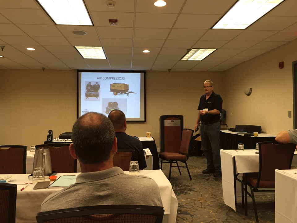 Bloomington, MN - Bill Benito on equipment selection and high volume air.