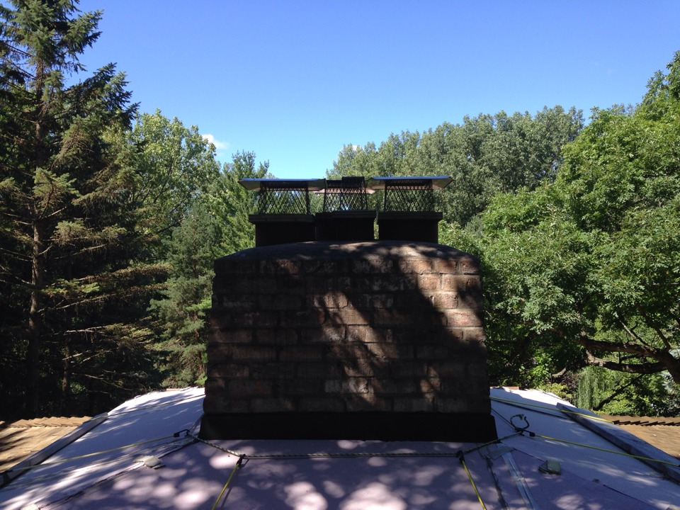 Arden Hills, MN - Installed 4 screens and rain covers