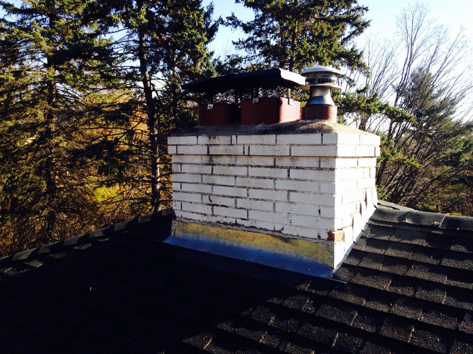 Maplewood, MN - Double chimney cleaning and ChimScan inspections