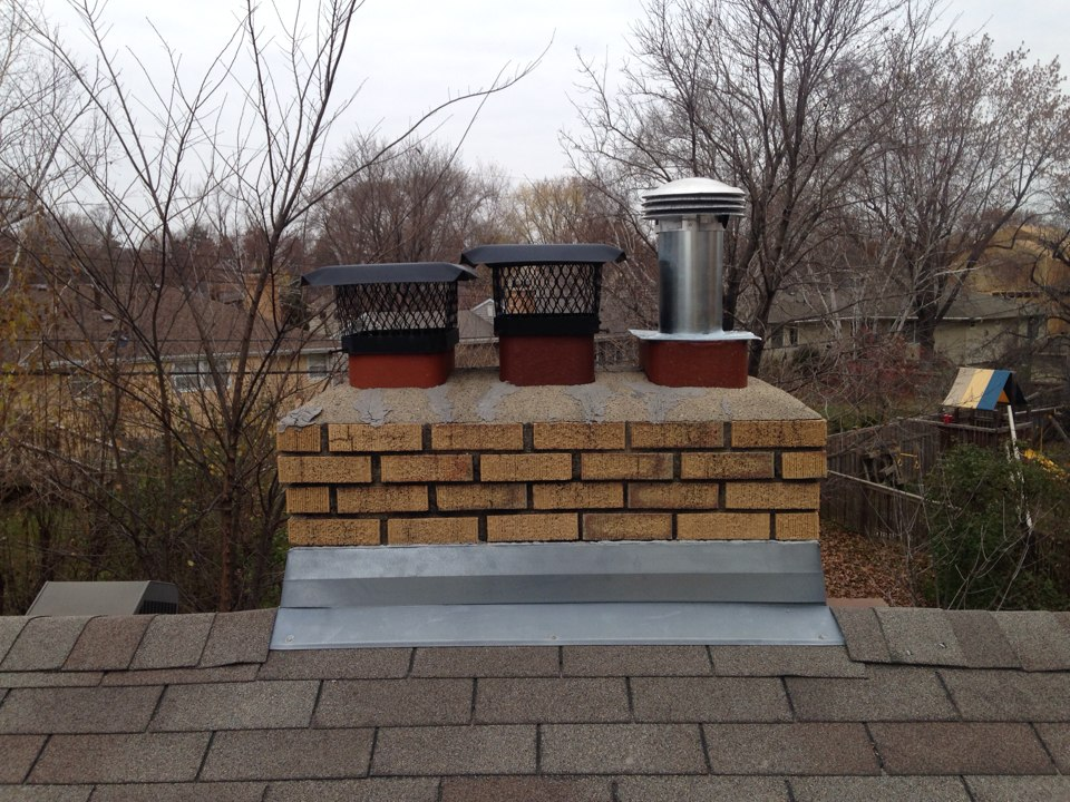 Edina, MN - Installed a 6 inch top plate and gas cap