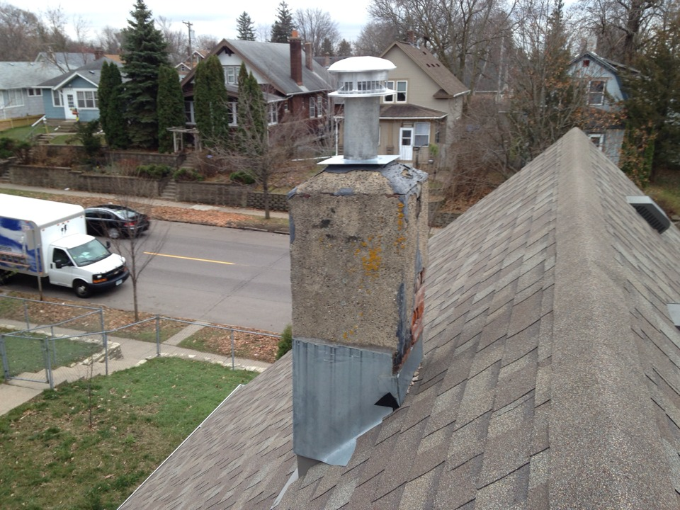 Maplewood, MN - Installed a 5 inch gas cap and top plate