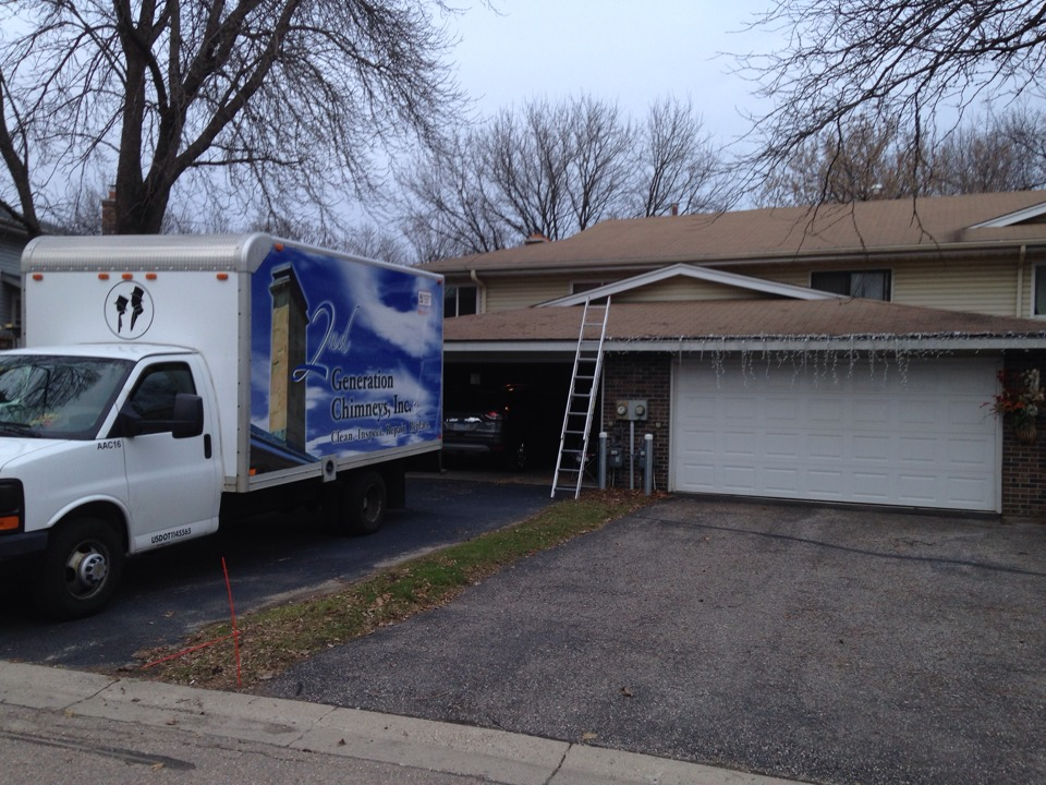 Minnetonka, MN - Furnace , duct  and double chimney cleaning and ChimScan inspections