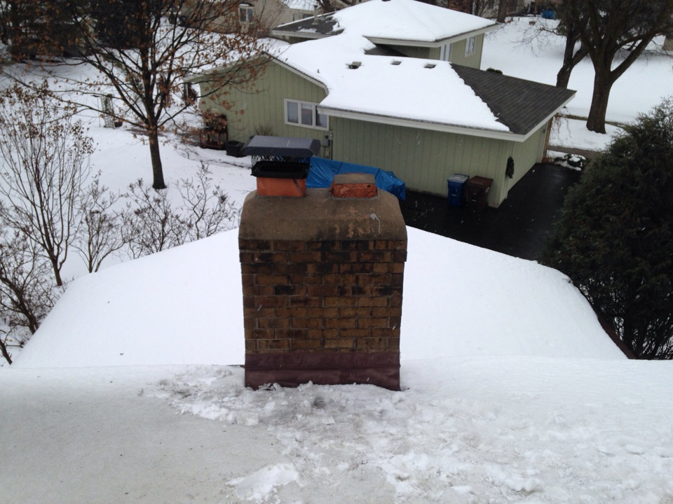 Plymouth, MN - Chimney cleaning and ChimScan inspection