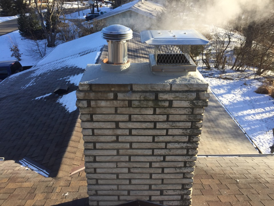 White Bear Lake, MN - chimney clean and smartscan inspection