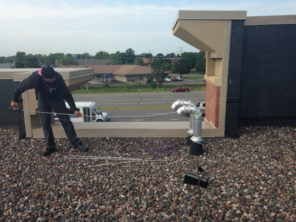 Plymouth, MN - Annual dry vent cleaning