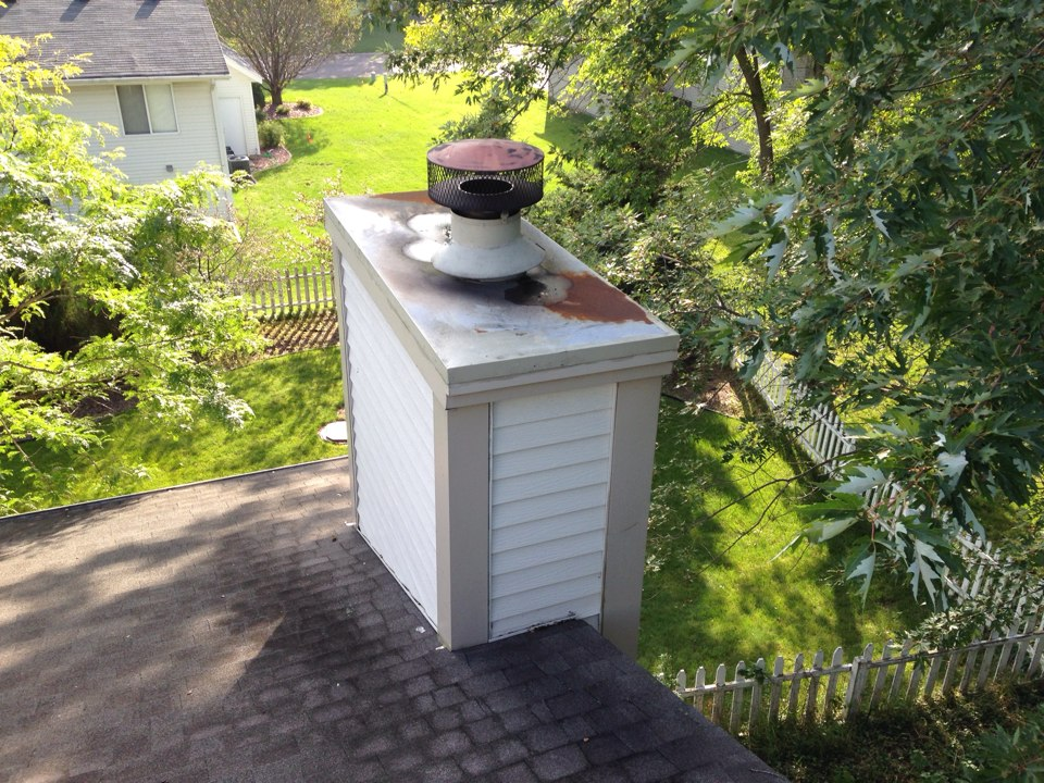 White Bear Lake, MN - Chimney cleaning and camera inspection