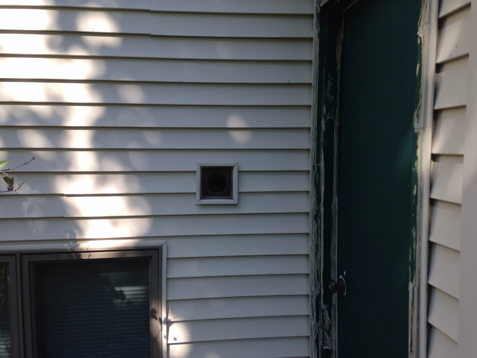 Hudson, WI - Dryer vent cleaning
