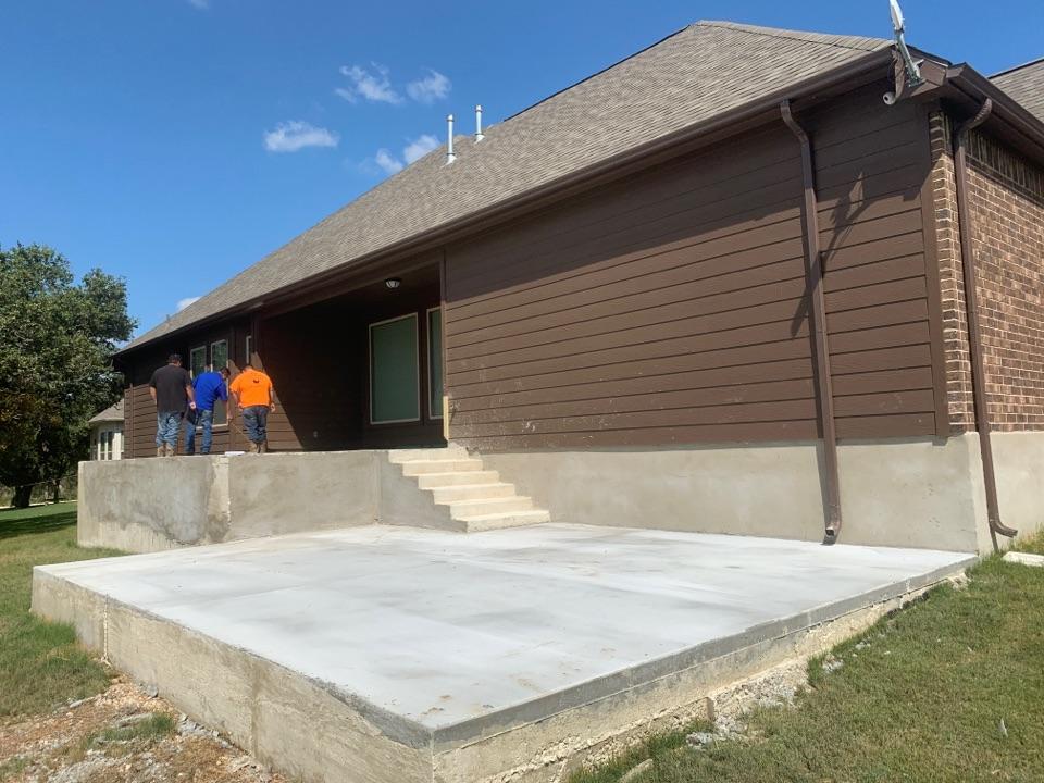 Castroville, TX - Building Sunroom Enclosure