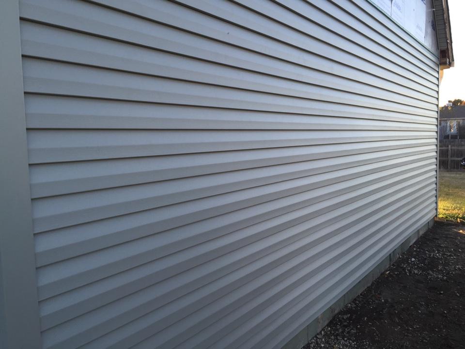 Wichita, KS - Seamless vinyl siding tieback underlayment quarter-inch fanfold