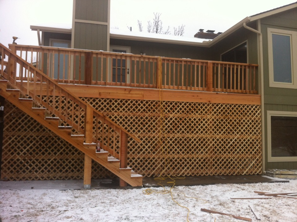 Wichita, KS - Deck, windows and siding is all done now