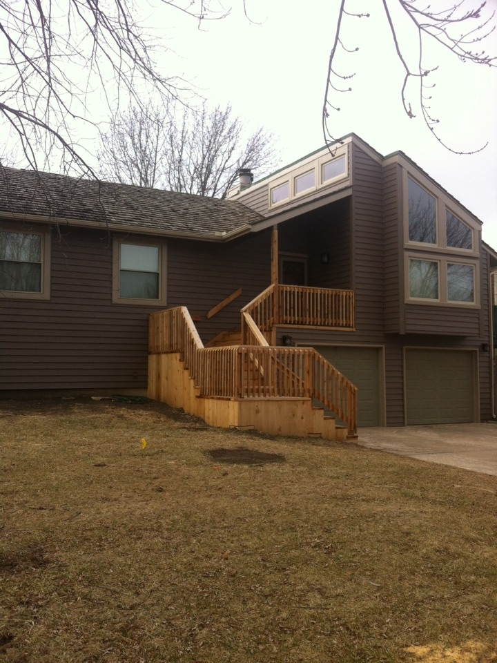 """Wichita, KS - Finished up this job last week, new energy efficient windows and double 6 """" siding with fullback insulation... Looks great!!"""