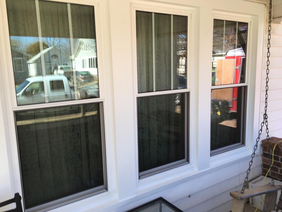 El Dorado, KS - Beautiful energy efficient triple pane windows.