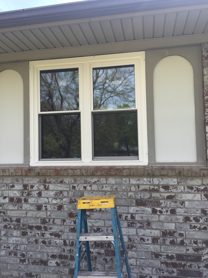 Wichita, KS - Energy-efficient full frame replacement triple pane glass windows lifetime warranty includes glass breakage