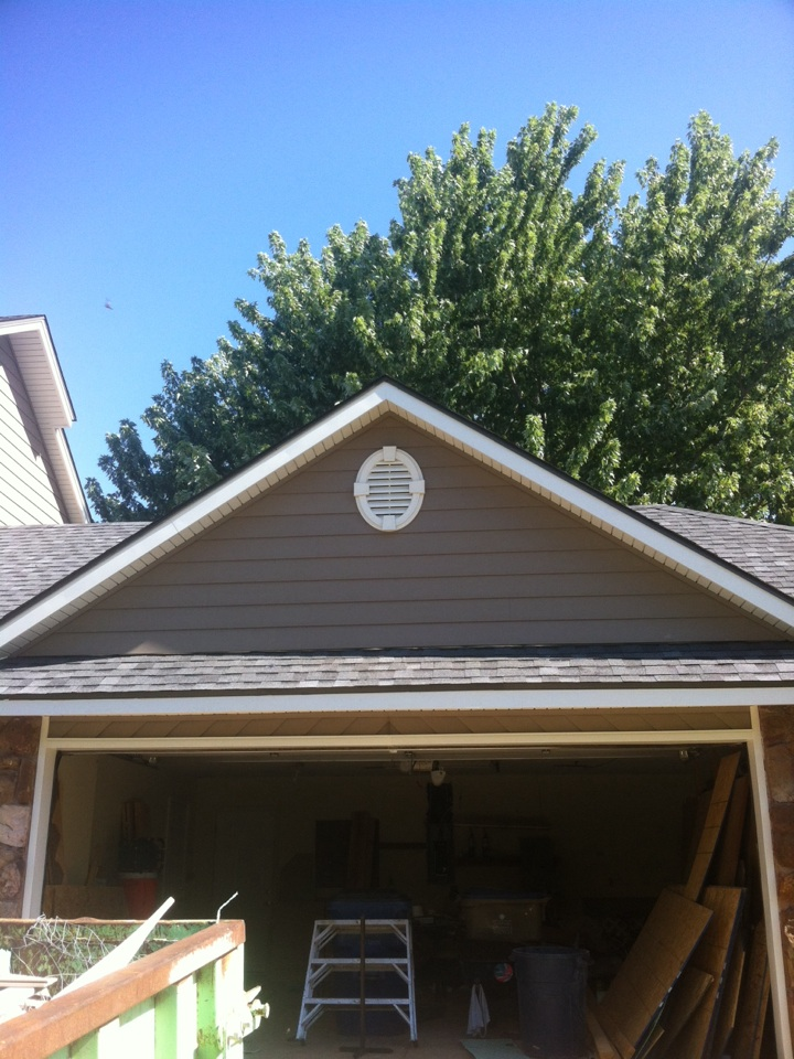Derby, KS - Almost all done with this beauty of Everlast siding here in Derby ks.!! We can do yours next! Just give us a call...