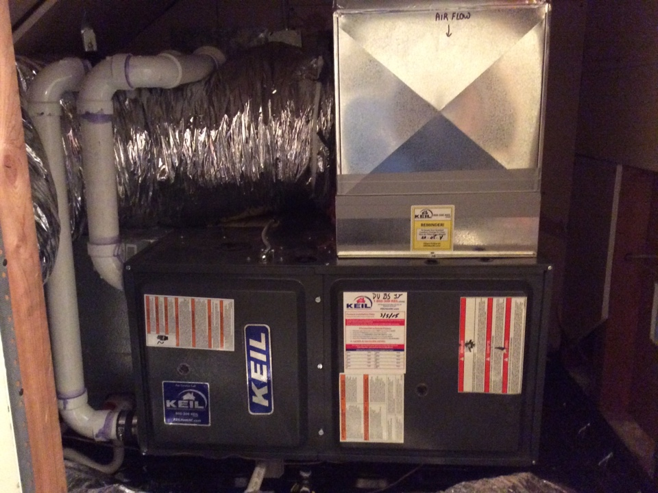 Waldwick, NJ - Install Goodman furnace 90%.