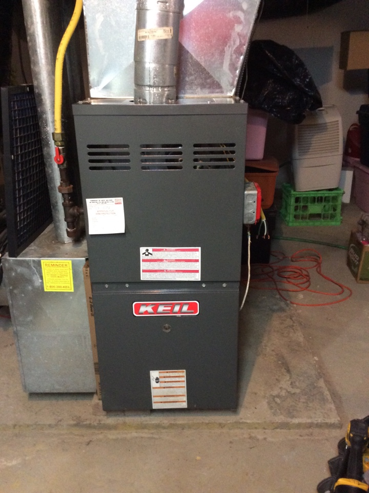 Paramus, NJ - Maintenance on goodman gas furnace.