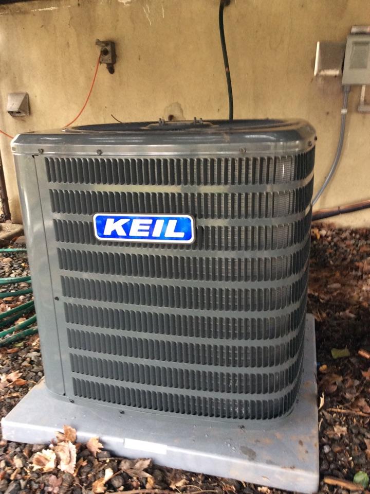Parsippany-Troy Hills, NJ - Goodman air conditioning install