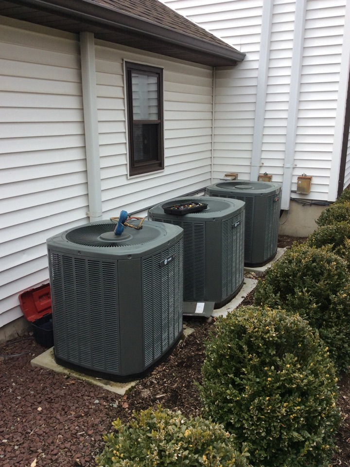 Fairfield, NJ - PERFORM MAINTENANCE ON 3 TRANE AIR CONDITIONING SYSTEMS