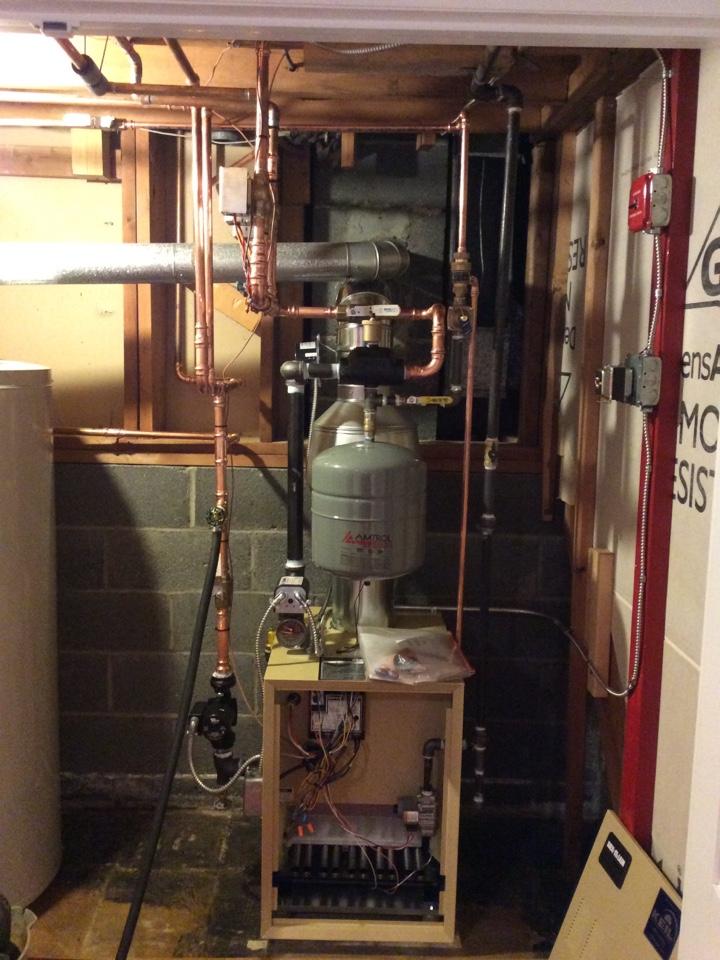 Paramus, NJ - Install Weil McClain boiler