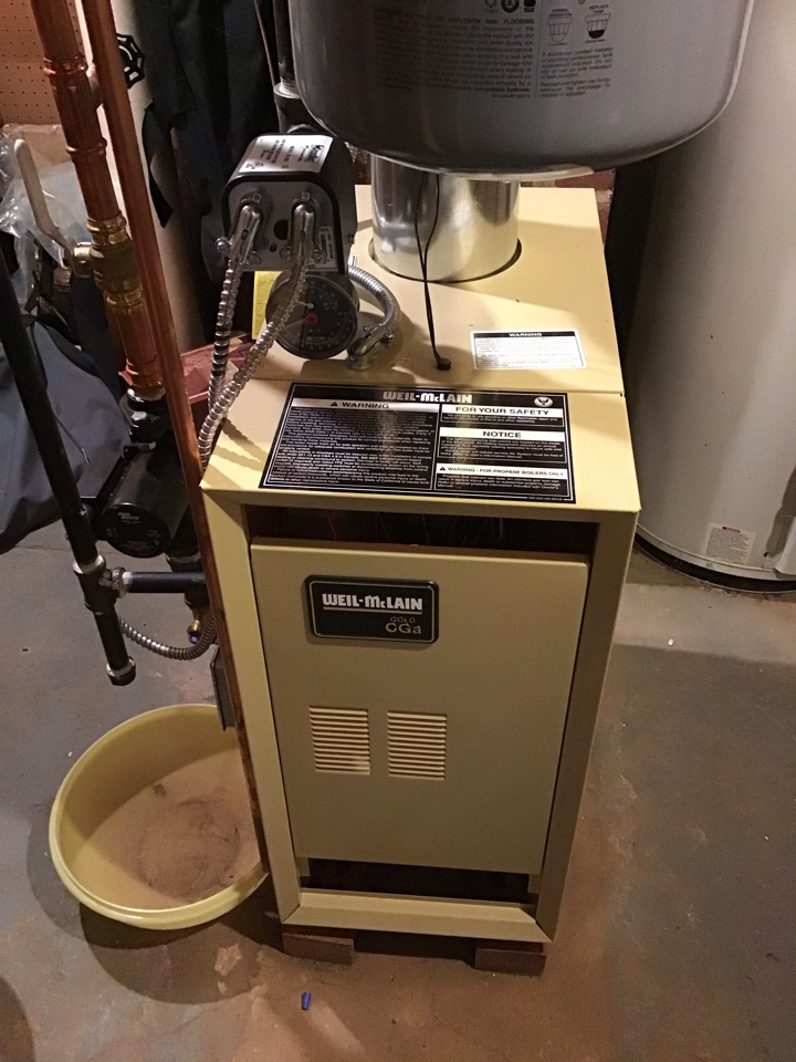 Bloomingdale, NJ - PERFORMED TWENTY POINT PRECISION TUNE UP ON WEIL MCCLAIN GAS BOILER