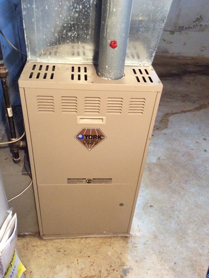 Rockaway, NJ - PERFORM MAINTENANCE ON A YORK FURNACE