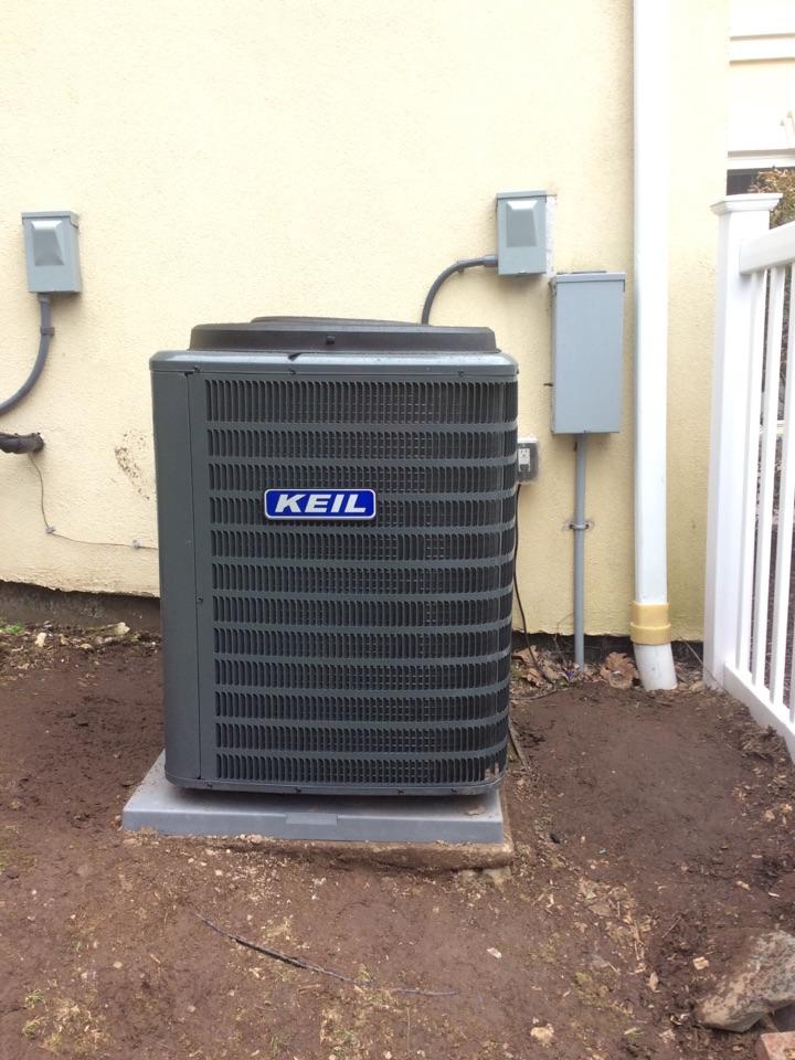 Boonton Township, NJ - Install Goodman air handler and condenser