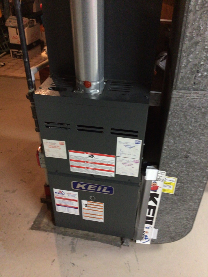 PERFORMED TWENTY POINT PRECISION TUNE UP ON GOODMAN GAS FURNACE