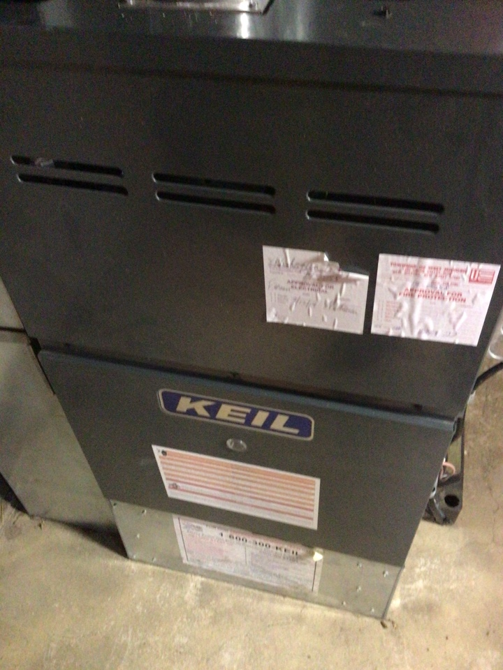 Paramus, NJ - PERFORMED TWENTY POINT PRECISION TUNE UP ON GOODMAN GAS FURNACE
