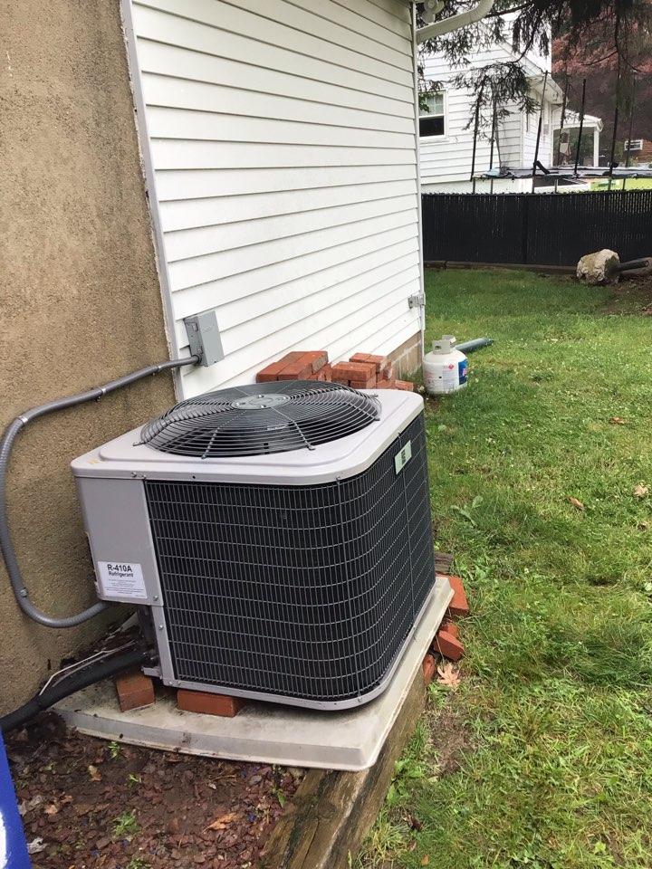 West Milford, NJ - PERFORMED TWENTY POINT PRECISION TUNE UP ON AC UNIT