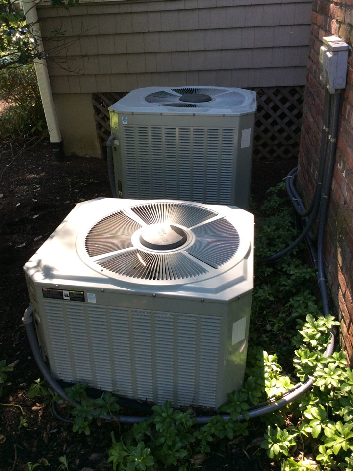 Caldwell, NJ - PERFORM MAINTENANCE ON 2 TRANE AC UNITS.
