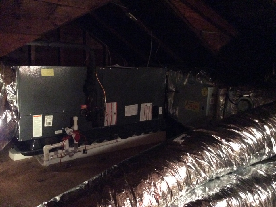 Midland Park, NJ - Install 4 ton Goodman air handler and condenser with Arzel zoning system