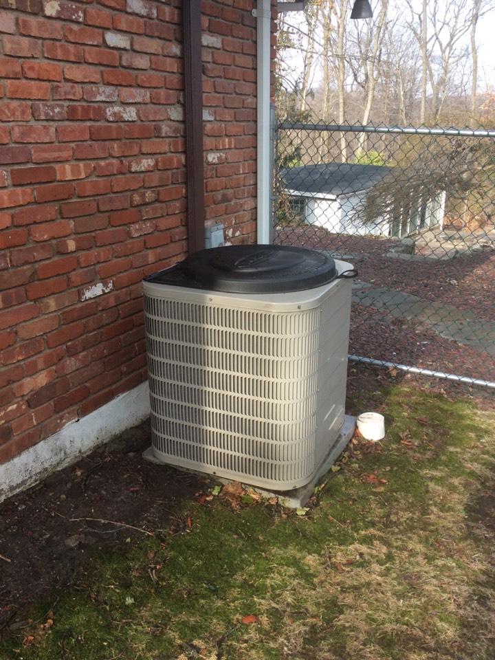 Totowa, NJ - Performed maintenance on goodman AC system