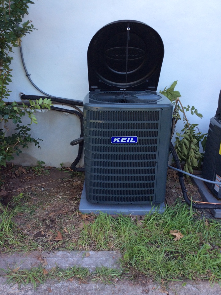 North Haledon, NJ - Install Goodman 4 ton  air handler  and condenser
