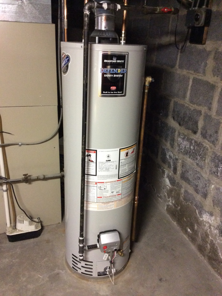 Boonton Township, NJ - REMOVE OF 40 GALLON STATE GAS WATER HEATER AND INSTALL OF BRADFORD WHITE GAS WATER HEATER