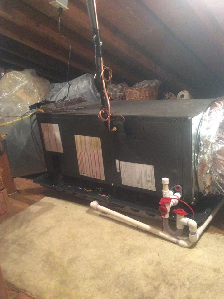 Parsippany-Troy Hills, NJ - Install goodman air handler and condenser