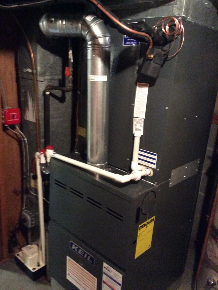 Paramus, NJ - Install Goodman 5 ton furnace, coil, and condenser