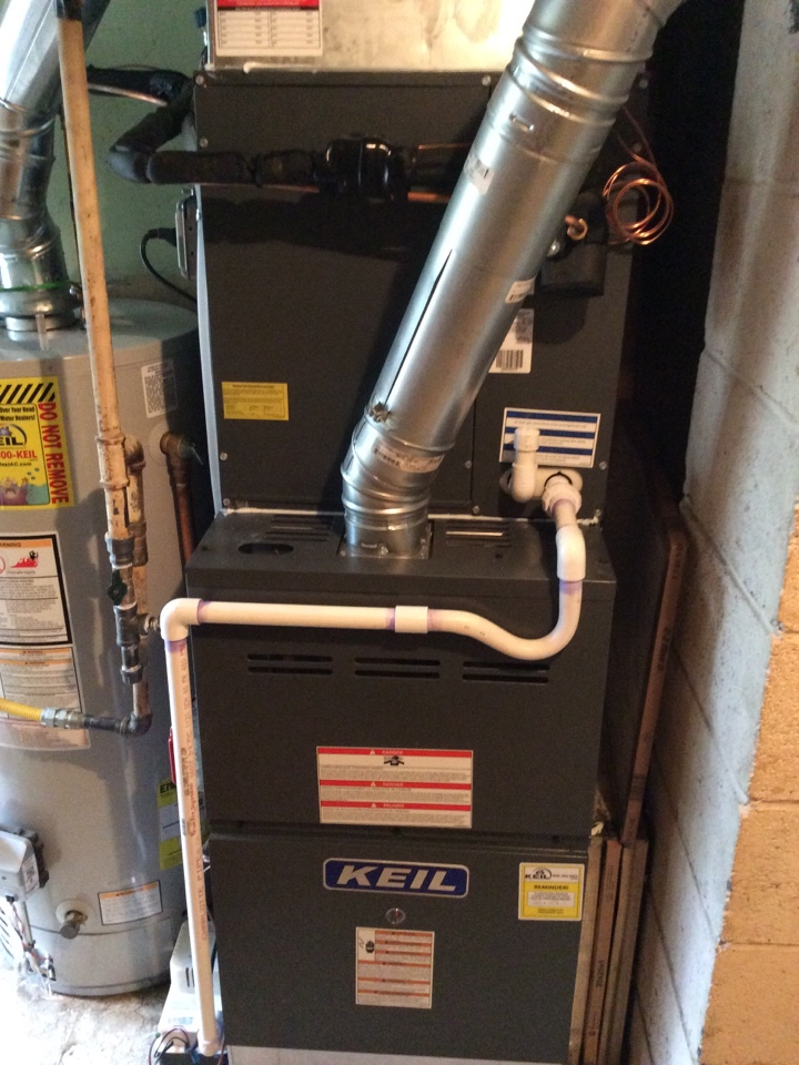 Parsippany-Troy Hills, NJ - Install goodman furnace coil and condenser
