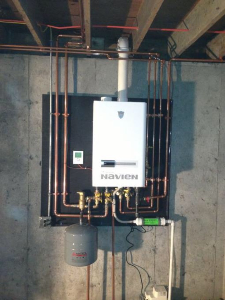 Denville, NJ - Performed maintenance on NAVIEN COMBI heating system.