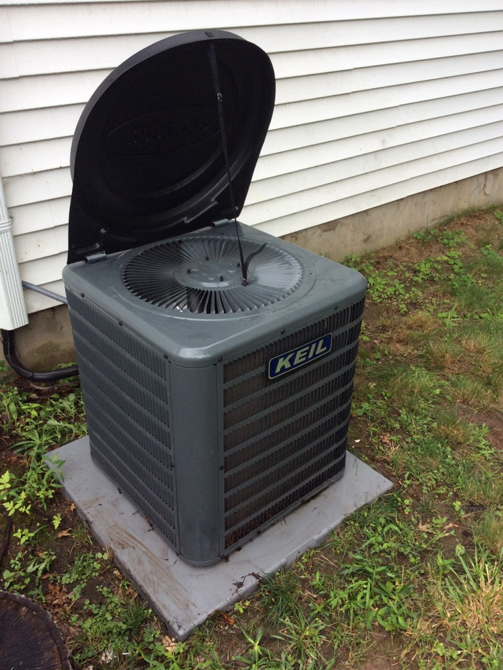 Boonton Township, NJ - Performed maintenance on goodman AC system.