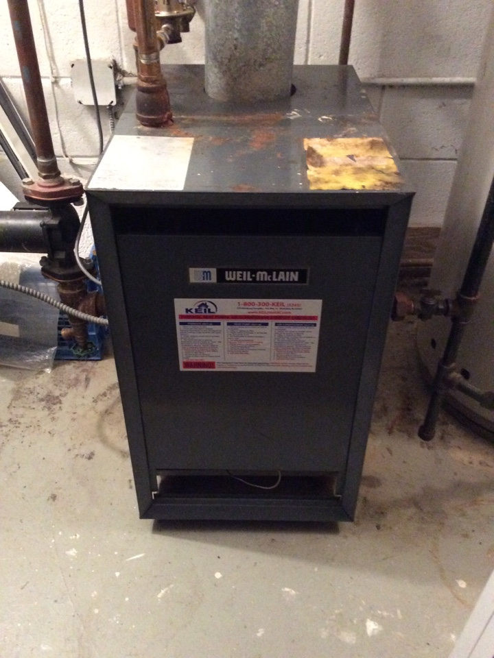 Allendale, NJ - PERFORM MAINTENANCE ON A WEIL-MCLAIN BOILER