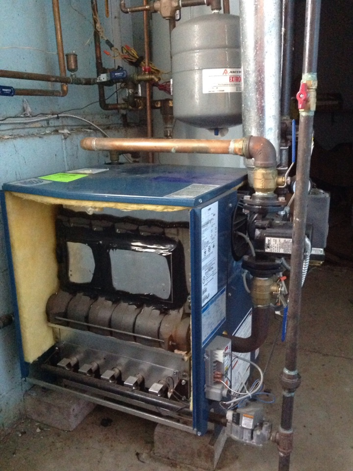 Glen Rock, NJ - Performed maintenance on crown steam boiler.