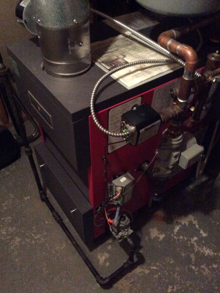 Totowa, NJ - Performed maintenance on crown gas Boiler system.