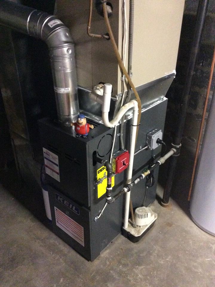 Boonton Township, NJ - Install goodman furnace