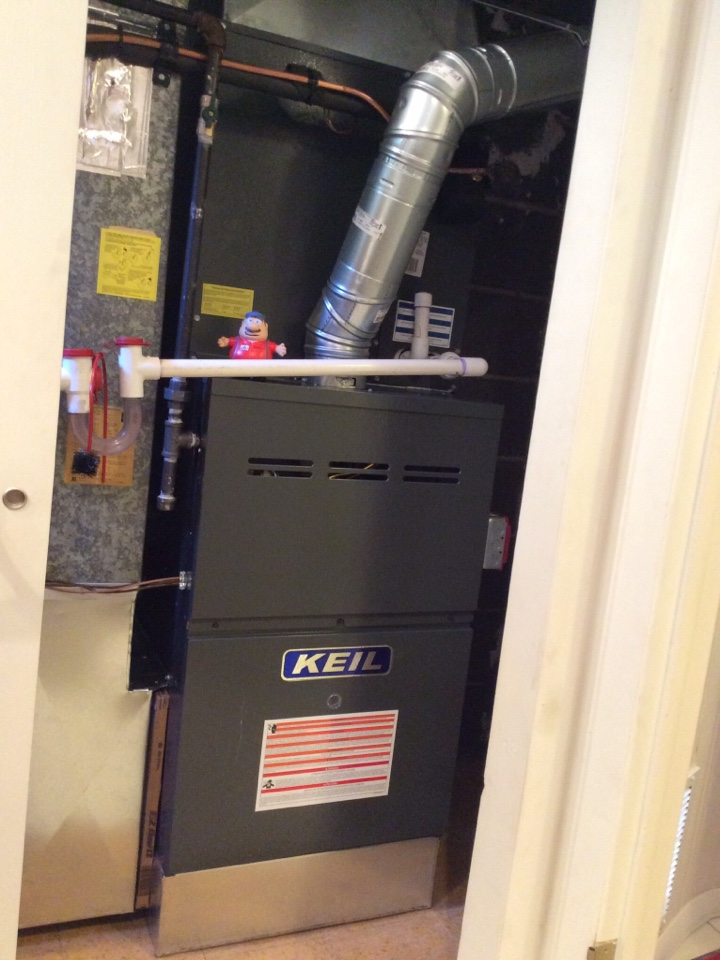 Boonton Township, NJ - PERFORM MAINTENANCE ON GAS FURNACE.
