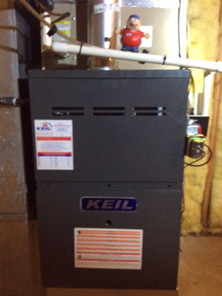 Boonton Township, NJ - PERFORM MAINTENANCE ON GAS FURNACE