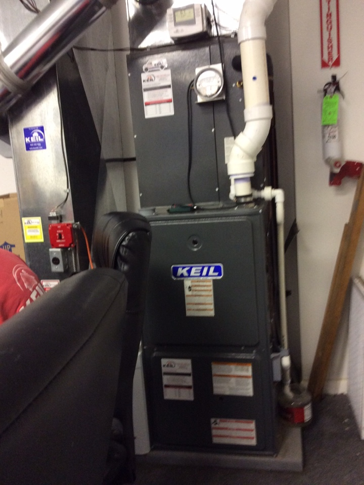 Paramus, NJ - Performed maintenance on goodman gas furnace heating system.