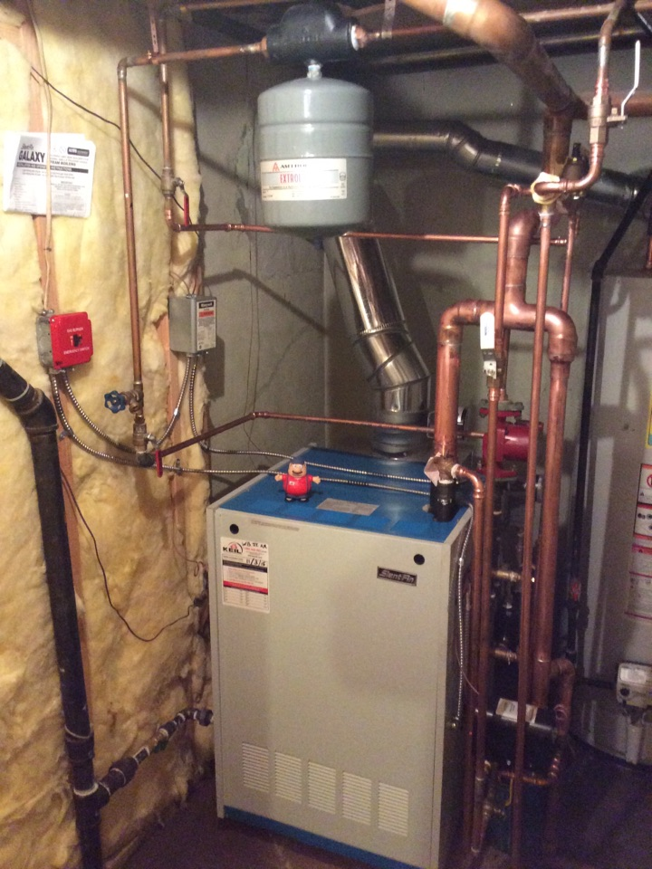 Glen Rock, NJ - Install Slant Fin steam boiler